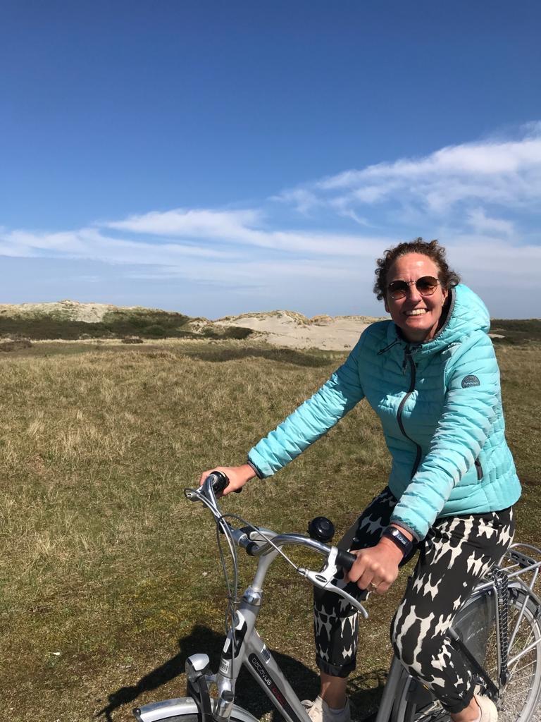 foto Hillie Hofma fiets